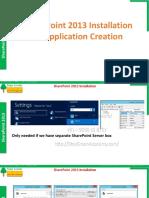 SP2013 008 SharePoint Installation