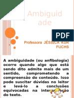 ambiguidade- 7ª ano