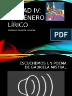 género lírico 5° básico
