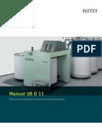 SB-D 11 Draw Frame Brochure 2217-V1 Es Original 26795