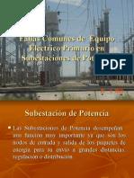 Fallas comunes de equipo eléctrico primario en subestacione