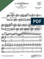 La Tourterelle - Piano