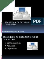Presentación SGSI en Sistemas Cloud