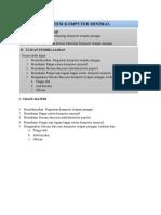 2. Modul Kinerja Komputer Terapan Jaringan