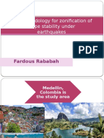Slope Stability Gis by fardous rababah