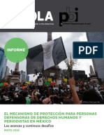 WOLA-PBI Informe Mexcanismo 2016