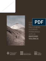 Guia de Medidas Preventivas Para Los Bienes Culturales en Casos de Erupcion Es Volcanicas