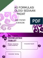 tablet formulasi