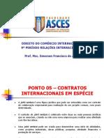 Aulas Pontos 05, 06 e 07 Direito Do Comércio Internacional
