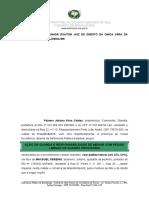 Regulamentação de Guarda (litigiosa Liminar - adolesc).doc
