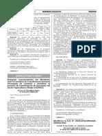 Modificación de requisitos fitosanitarios para la importación de plantas de arándano in vitro (Vaccinium corymbosum) de origen y procedencia EE.UU