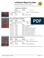 Peoria County Jail booking Sheet 5/27/2016