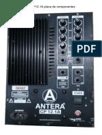 Antera CP12_1A Placa de Componentes