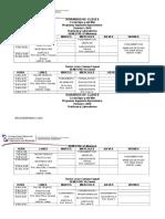 Horario de Clase Agronomia Periodo I-2016