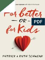 For Better or for Kids Sample