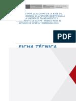 Ficha Técnica PARA Lectura de Matriz Excel