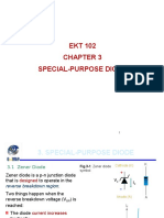 Special Purpose Diode NOTES
