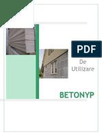 Manual Betonyp