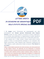 Manifesto MPA Su Anniversario Statuto Autonomia