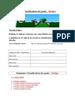 Classification Ponts 2014 Consignes Professeur