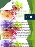Influencia Del Modernismo en El Diseño Gráfico