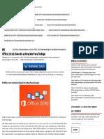 MS Office 2016 Clave de Activación Para Trabajo