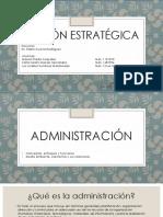 Administración Equipo 1