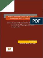 MANUAL PARA LA ELABORACIÓN DE TESIS PROFESIONAL PARA LICENCIATURA-.doc