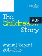 Childreach International Annual Review 2014-15