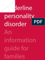 Border Line Personality Disorder Info