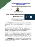Código de Aduanero Uniforme Centroamericano