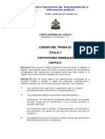 Código de Trabajo de Honduras