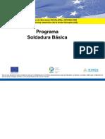 Programa de Soldadura Basica