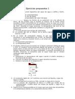 Ejercicios propuestos 1