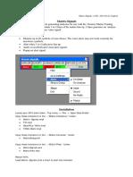 Matrix-Signals. Intraday Forex Strategy