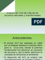 Análisis Del Ciclo de Vida de Los Recursos_naturales y Transformados