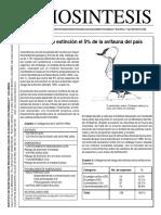 Bol07 en Riesgo de Extinci n El 5 de La Avifauna Del Pa s (1)