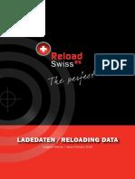 Tablas de Recarga Reload Swiss 2016