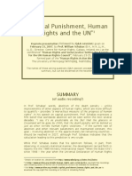 Capital Punishment - Prof. Shabas 070223 - Informal Summary by MANLIO GIORDANO 090618