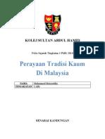 Folio Sejarah Tingkatan 3 PMR 2010
