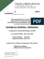 Cc100504 Asamblea General