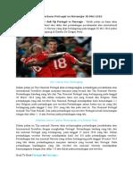 Prediksi Portugal vs Norway 30 Mei 2016