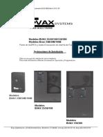Manual Evax Audio Convencional 24VDC