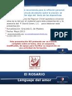 El Rosario Lenguaje de Amor Mayo 2013