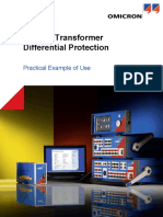 Test Universe Advanced Differential Module Application Note Example of Use Transformer ENU