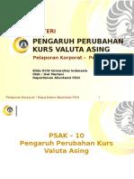PKP 6 Pengaruh Perubahan Kurs Valuta Asing