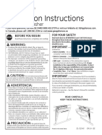 GDT550HGD Installation Instructions