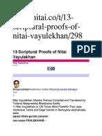Writing Japa of Nitai Pramanas