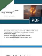Estudios de Carga de Fuego - Metodo Gustav Purt - Ing. Blanco