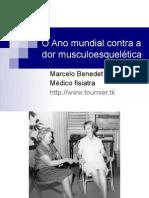 Dor Miofascial - Ano mundial contra a dor musculoesquelética